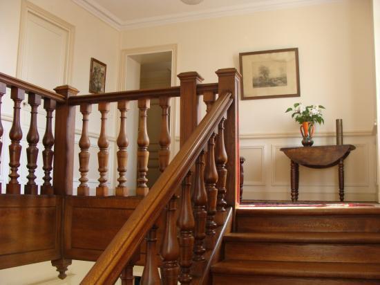 """Le palier de l'étage """"chambres d'hôtes"""""""